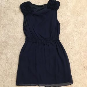 MM Couture by Miss Me navy cocktail dress